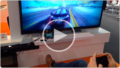 Watch gaming with SlimPort and MWC 2014