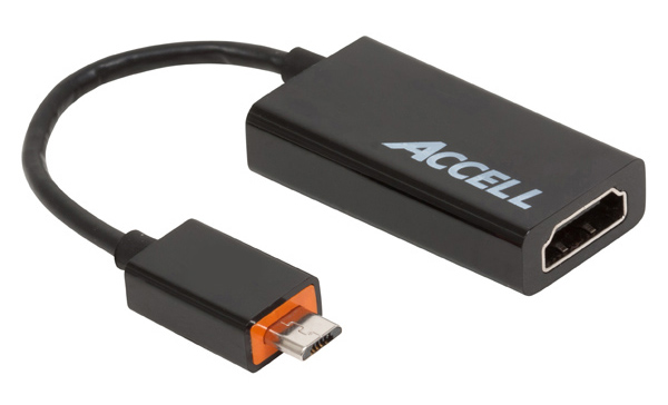 Accell Cables micro USB to HDMI Adapter